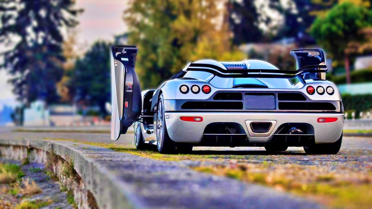 Car Wallpaper HD of Koenigsegg Trevita CCXR