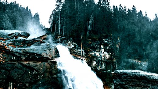 mountain falls Wallpaper for desktop