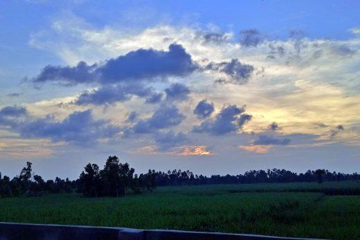 a beautiful sunset view